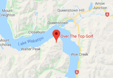 Over the Top Golf Map